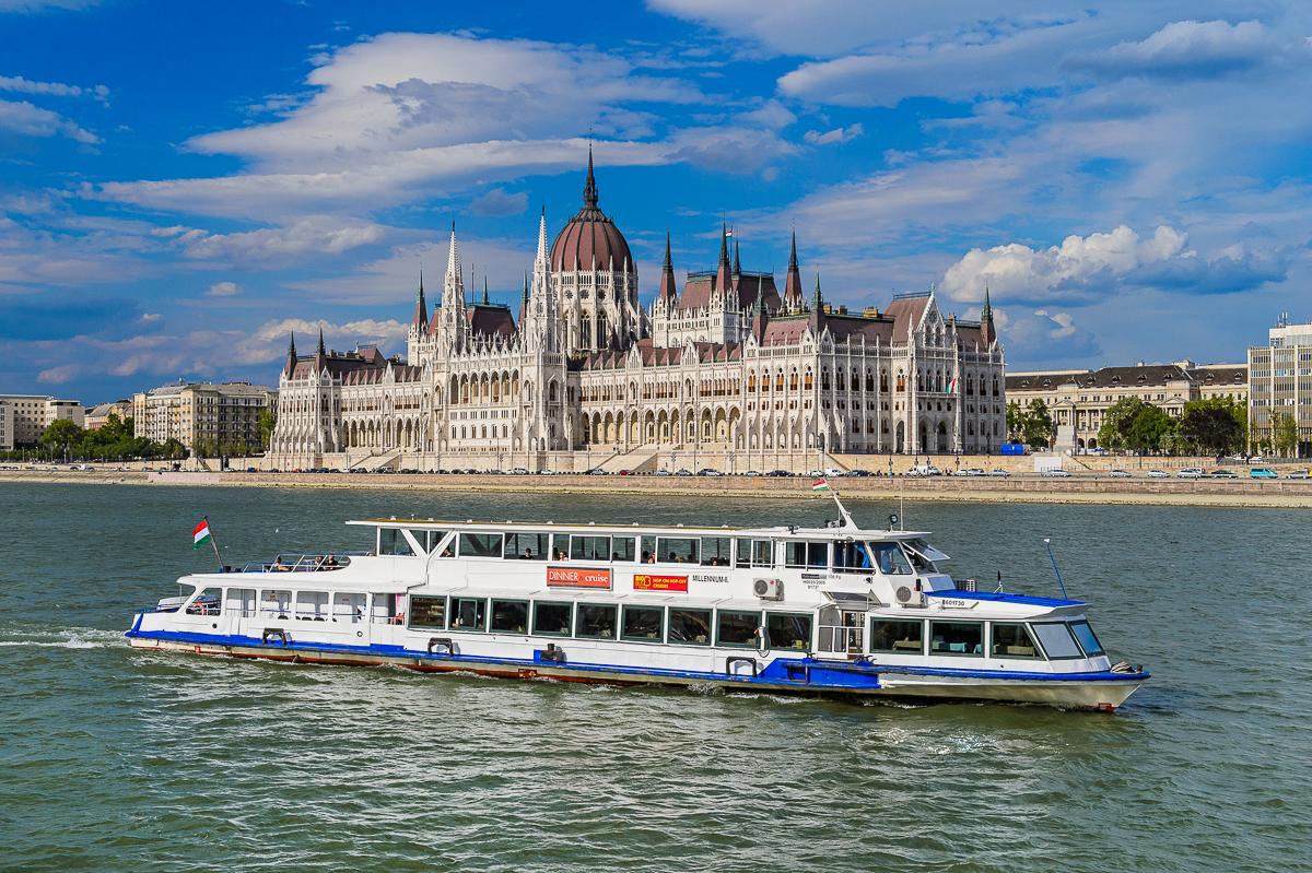 Budimpešta Mađarska Nova Godina