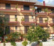 Spoljašnjost vile Vasiliki na Krfu u Grčkoj.