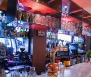 Bar hotela Amaryllis u Rodosu u Grčkoj.